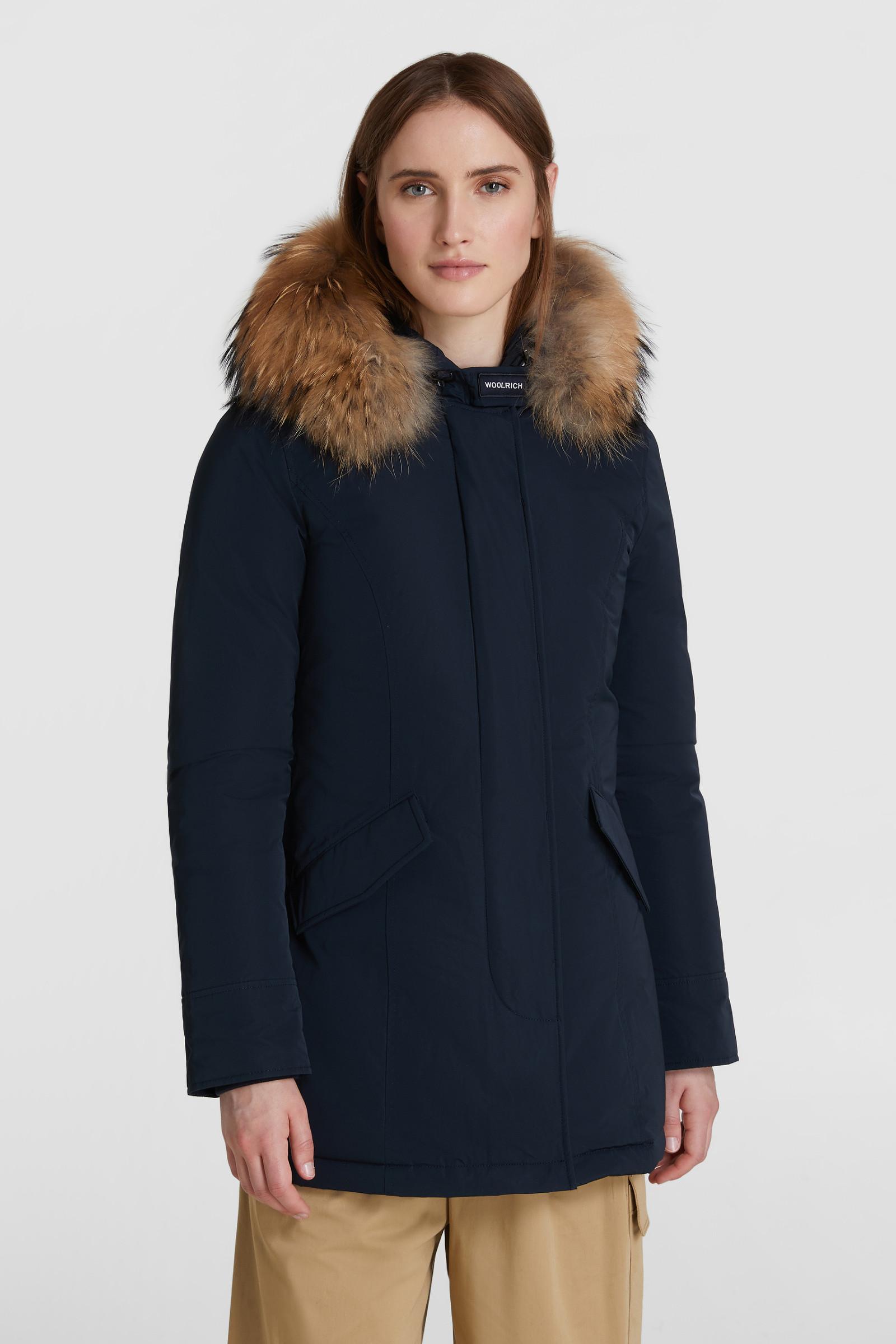 Arctic Parka Luxury Pelliccia Racoon