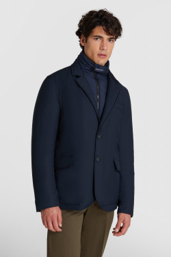 City Blazer With Detachable Vest Insert