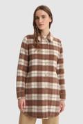Overshirt aus Wollmischung