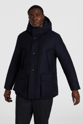 Premium Wool Mountain Parka