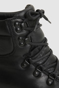 Hiker boots in padded napa leather