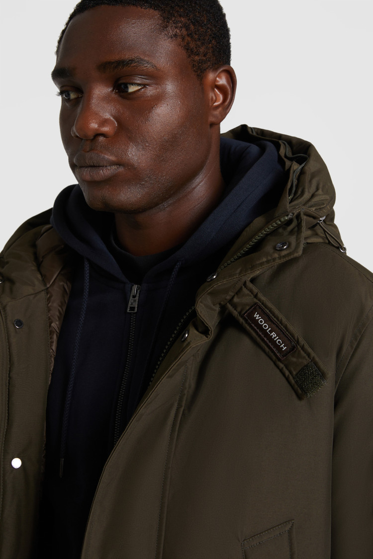 High Neck Polar Parka