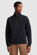 Luxuriöse Jacke Track mit durchgehendem Reißverschluss und hohem Kragen