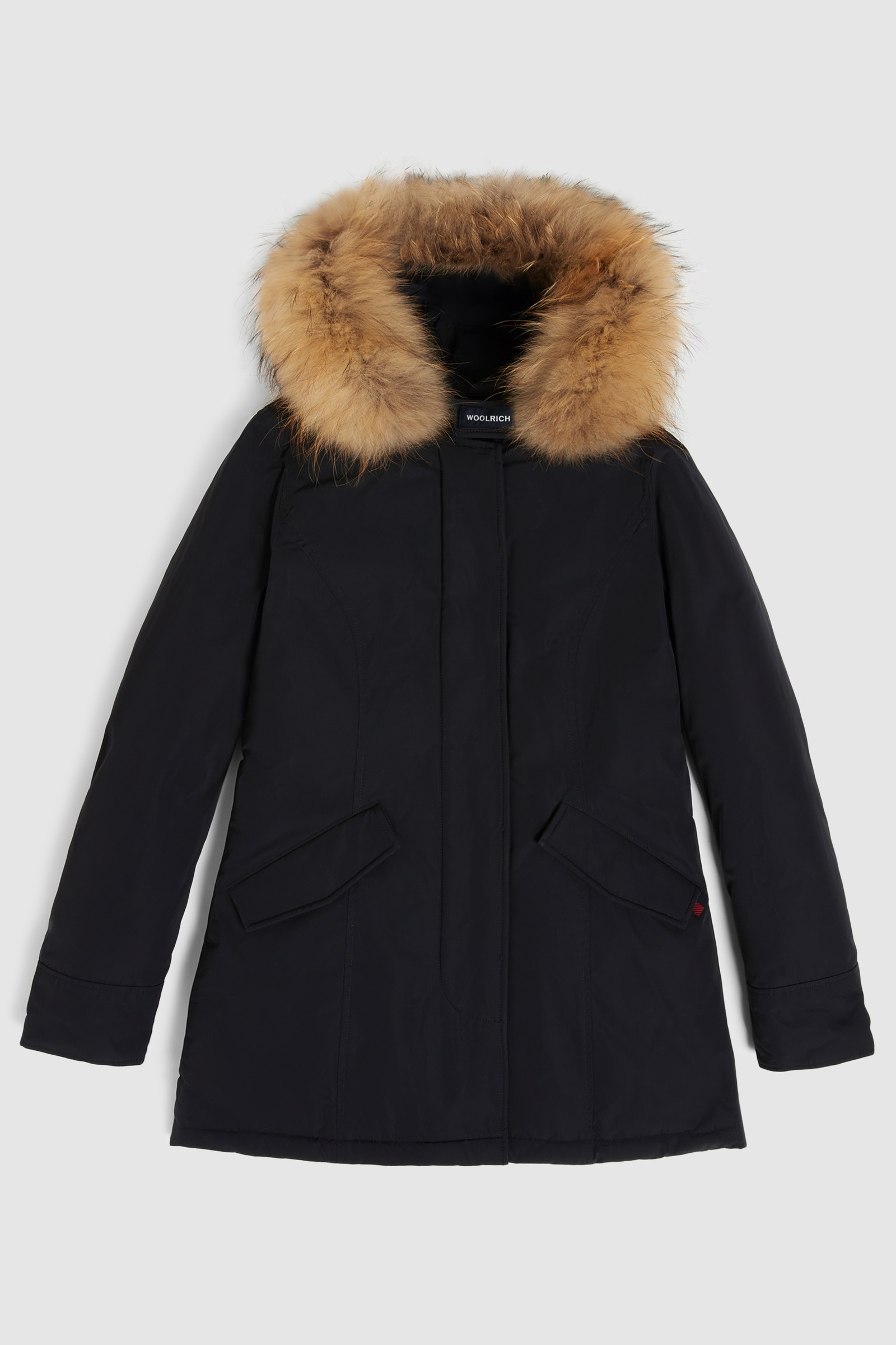 Luxury Arctic Parka with Racoon Fur