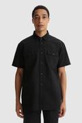 Half-sleeve Cool Mesh shirt with Blackwatch pattern