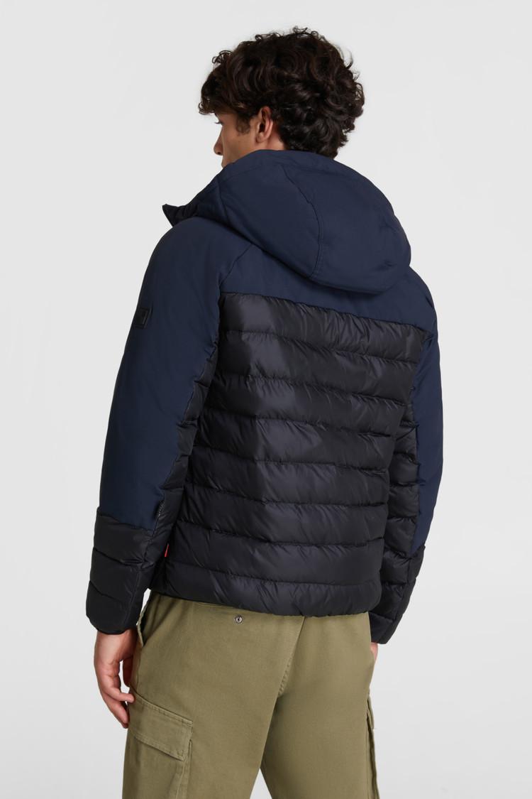 Intarsia Hooded Jacket
