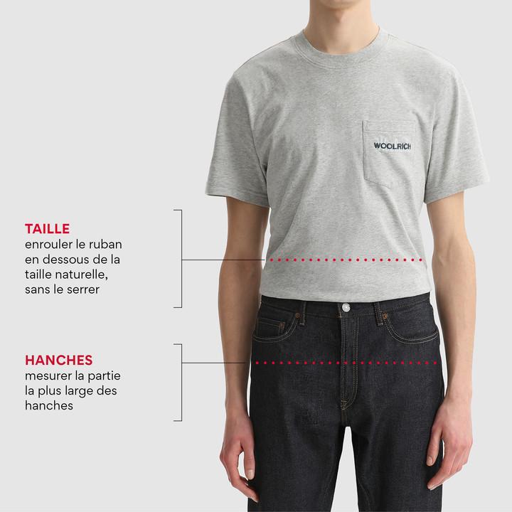 Guide des tailles: Comment se mesurer
