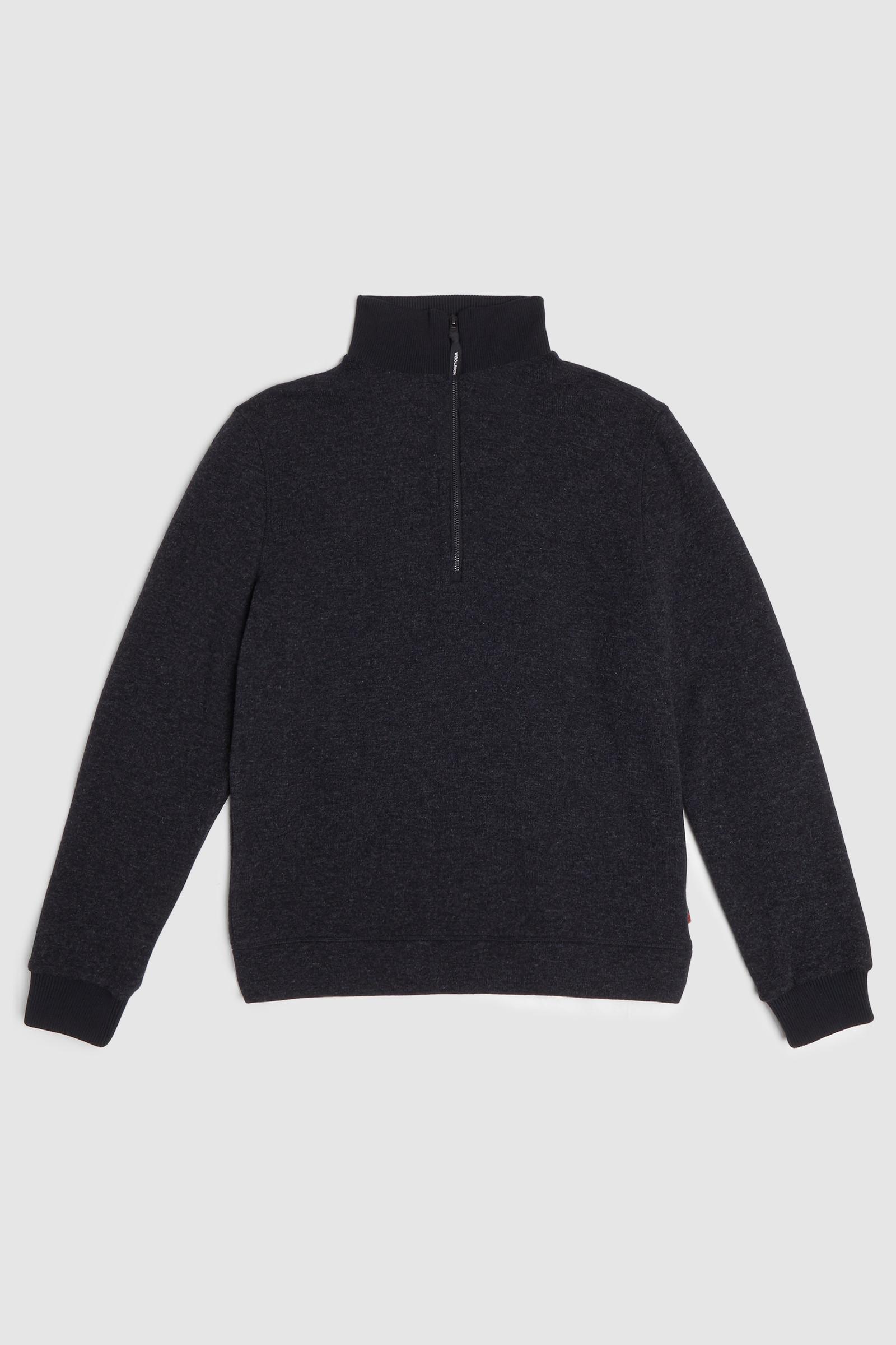 Pullover Glacier in misto lana cotone
