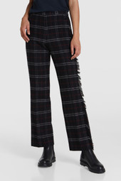 Pantalon en laine stretch