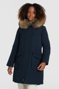 Military Parka with racoon fur