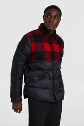Rowland Reversible Jacket With Shirt Collar