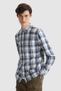Camicia Oxford in puro cotone