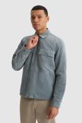Shirt Stag aus Samt mit Primaloft-Wattierung