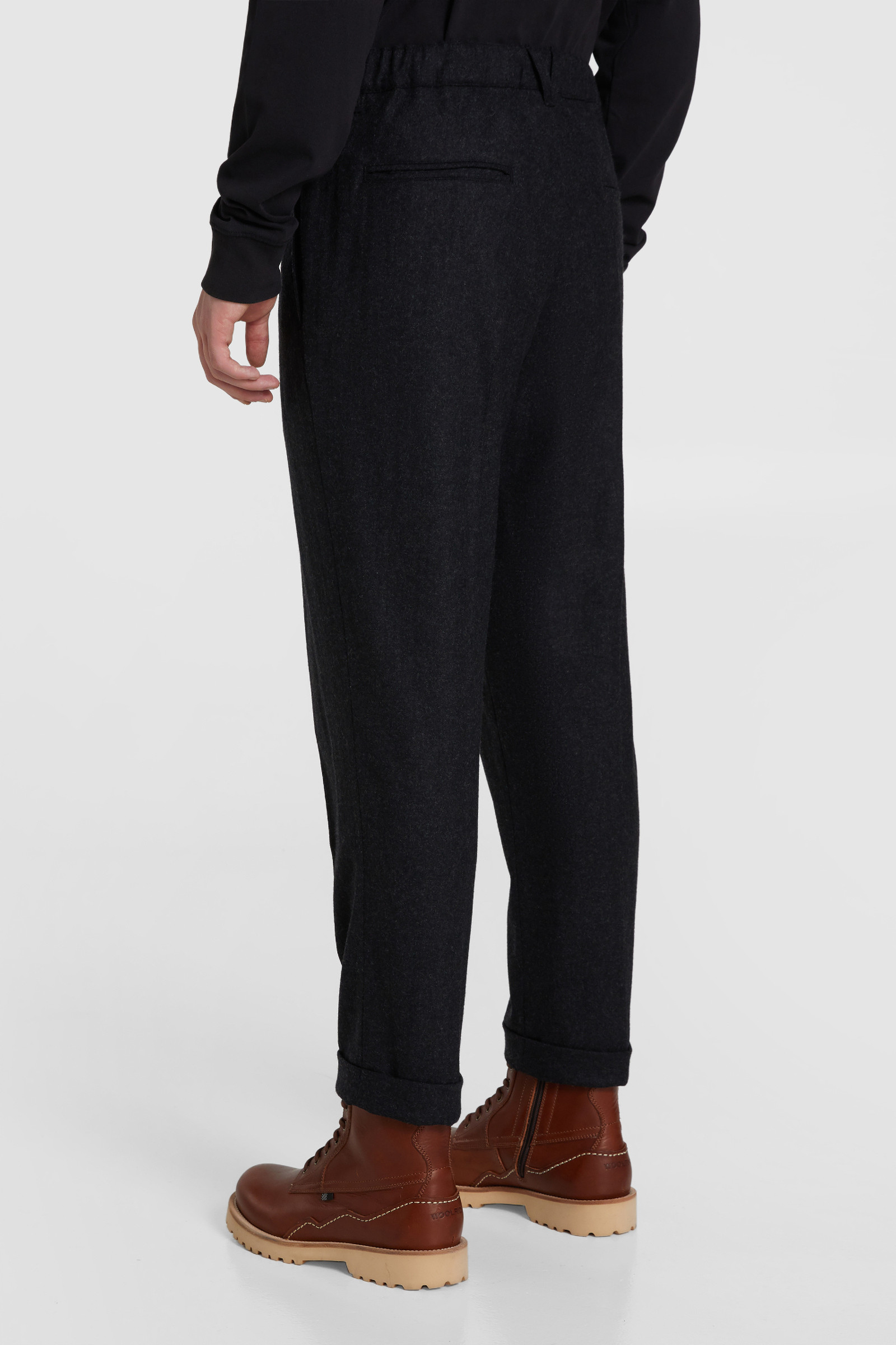 Comfort Chino Pants In Wool