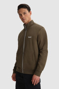 Essential Track sweater with embroidered logo