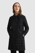 Meade 2-in-1 coat with Buffalo Check pattern