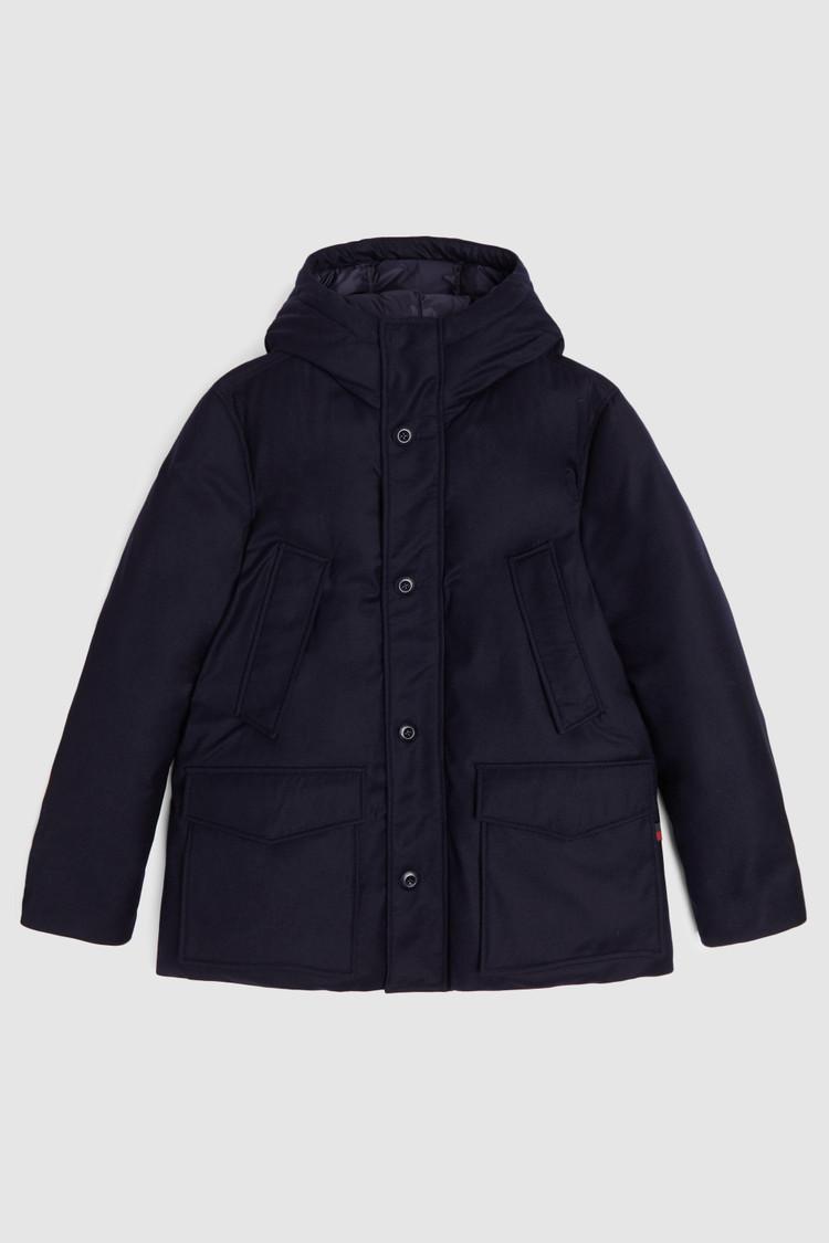 Premium Wool Mountain Parka