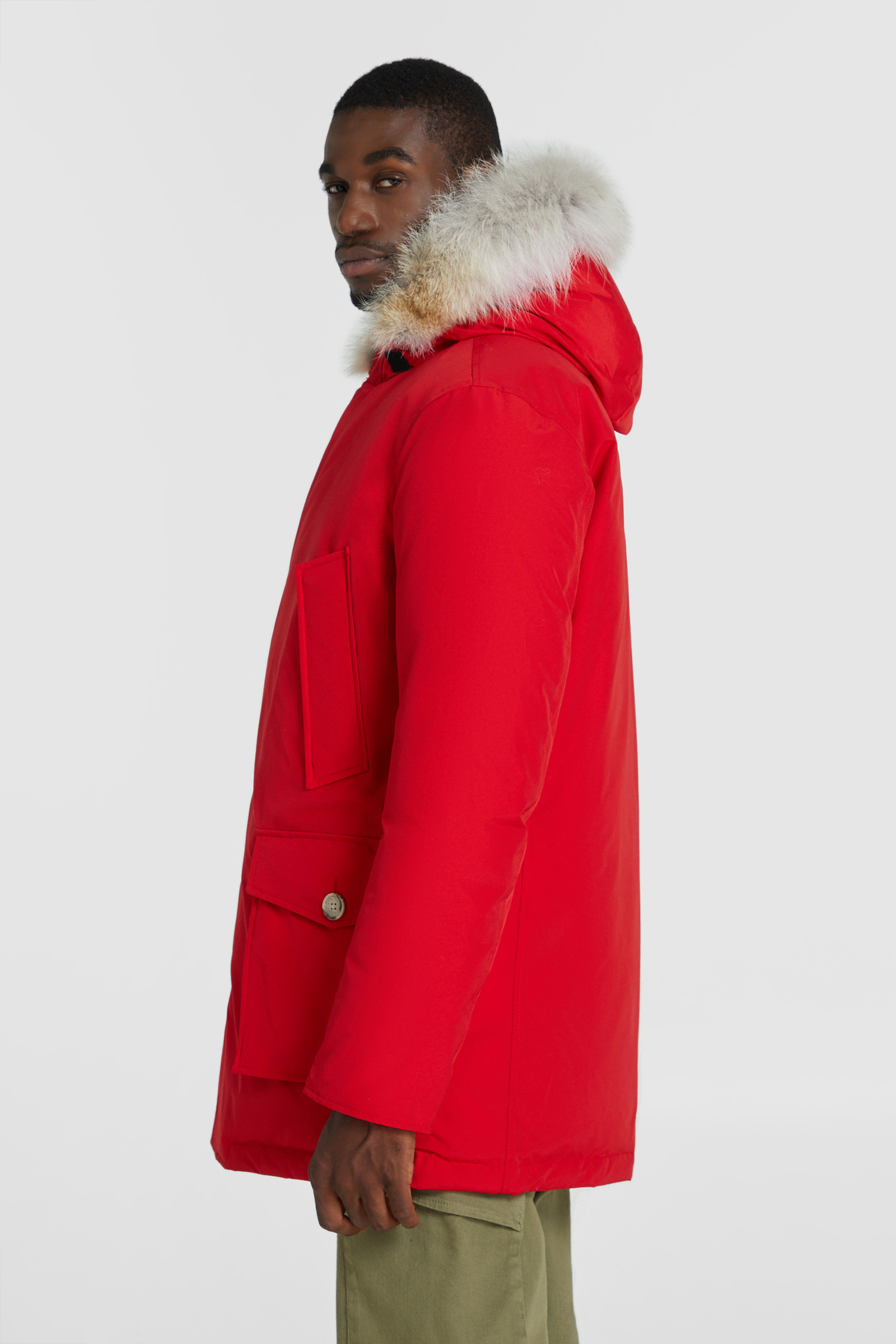 Arctic Parka With Detachable Fur