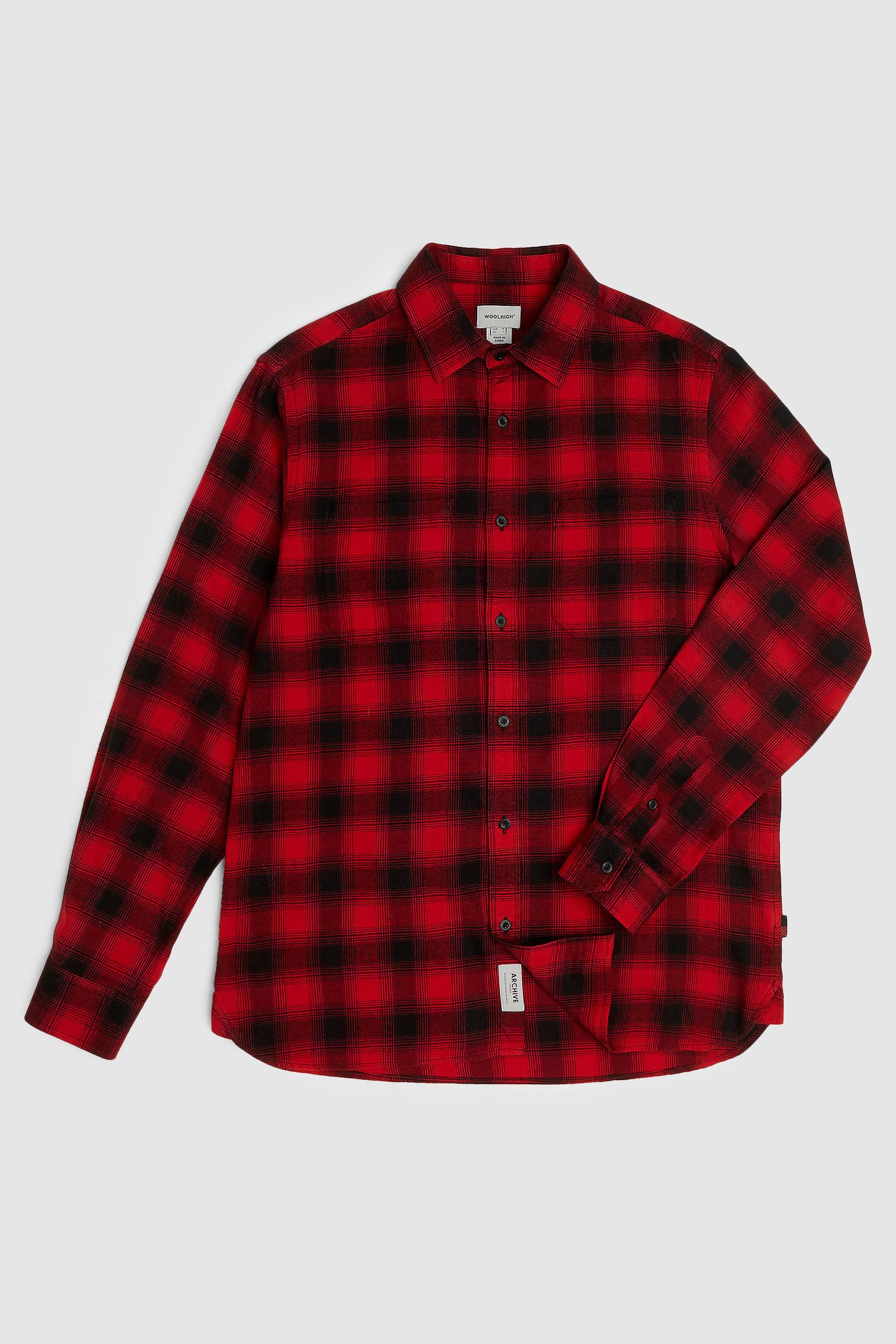 Camicia in flanella leggera