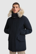 Polar Parka with high collar and removable fur