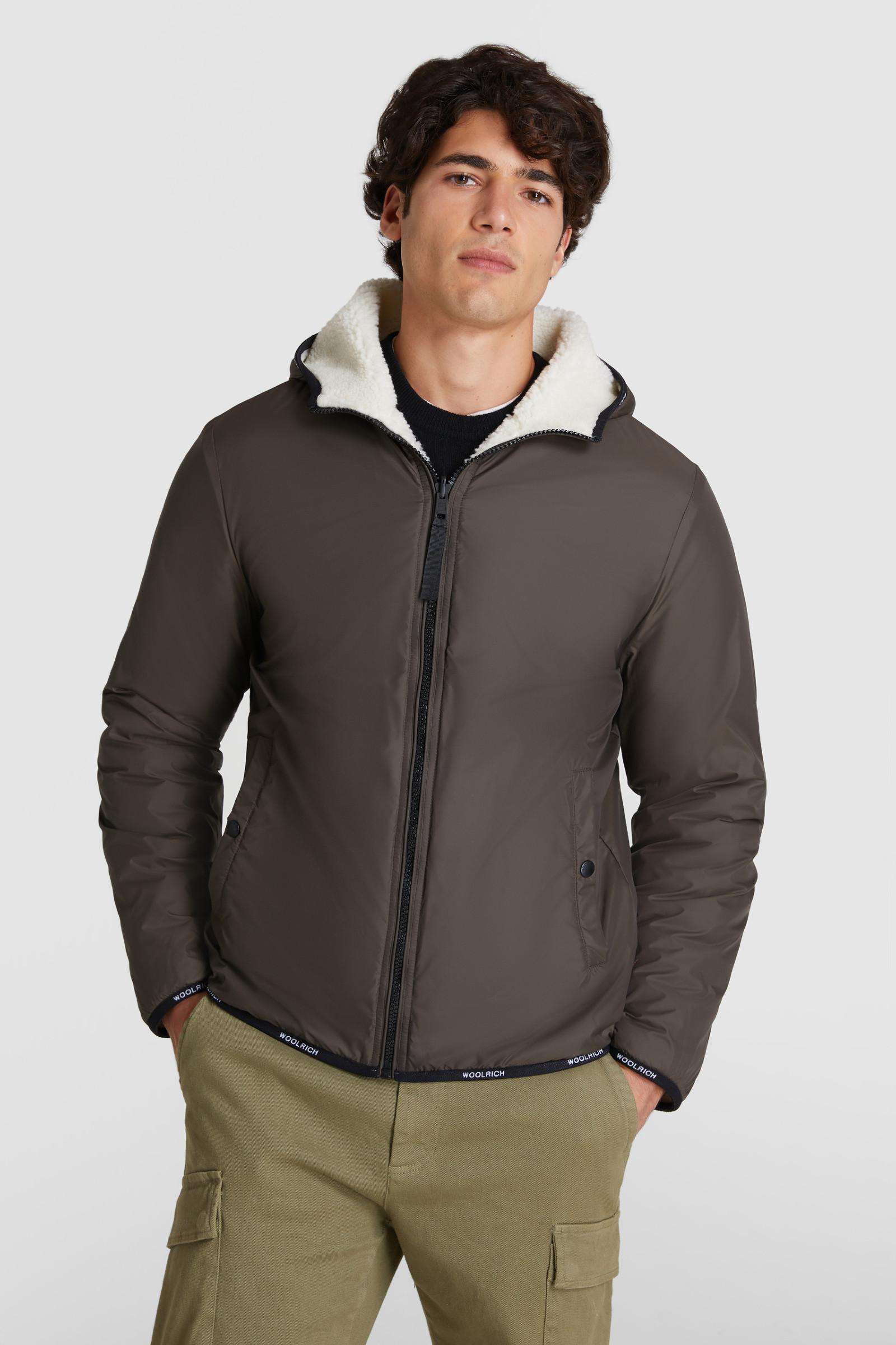 Reversible Sherpa Sweatshirt