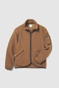 Terra Light Melton full-zip pullover