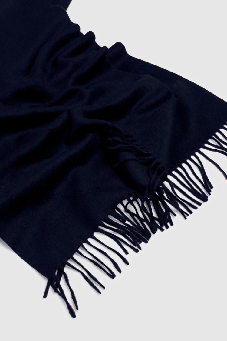 Sciarpa In Lana Logo Woolrich
