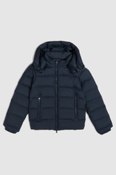 Bering Jacket With Detachable Hood