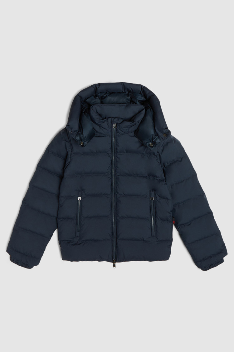 Bering Jacket With Detachable Hood