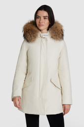 Arctic Parka With Racoon Fur