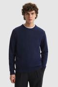 Super Geelong wollen trui met ronde hals