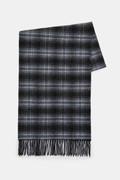 Sciarpa Check in misto lana double-face