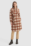 Gentry long Overshirt with belt