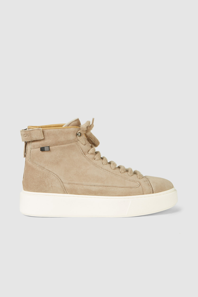 All Around Mid-Height Sneaker, suede