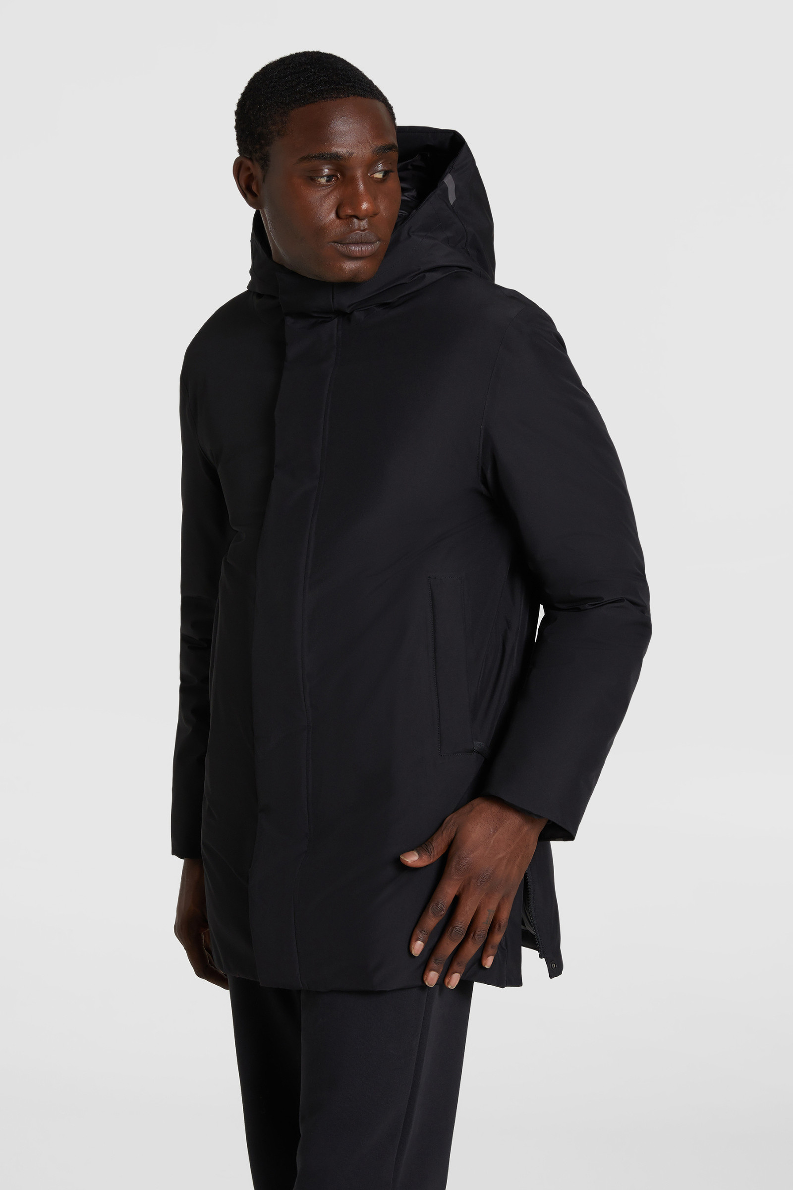 Manteau à capuche City