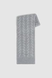 Écharpe en mélange de laine