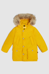 Arctic Parka With High Neck