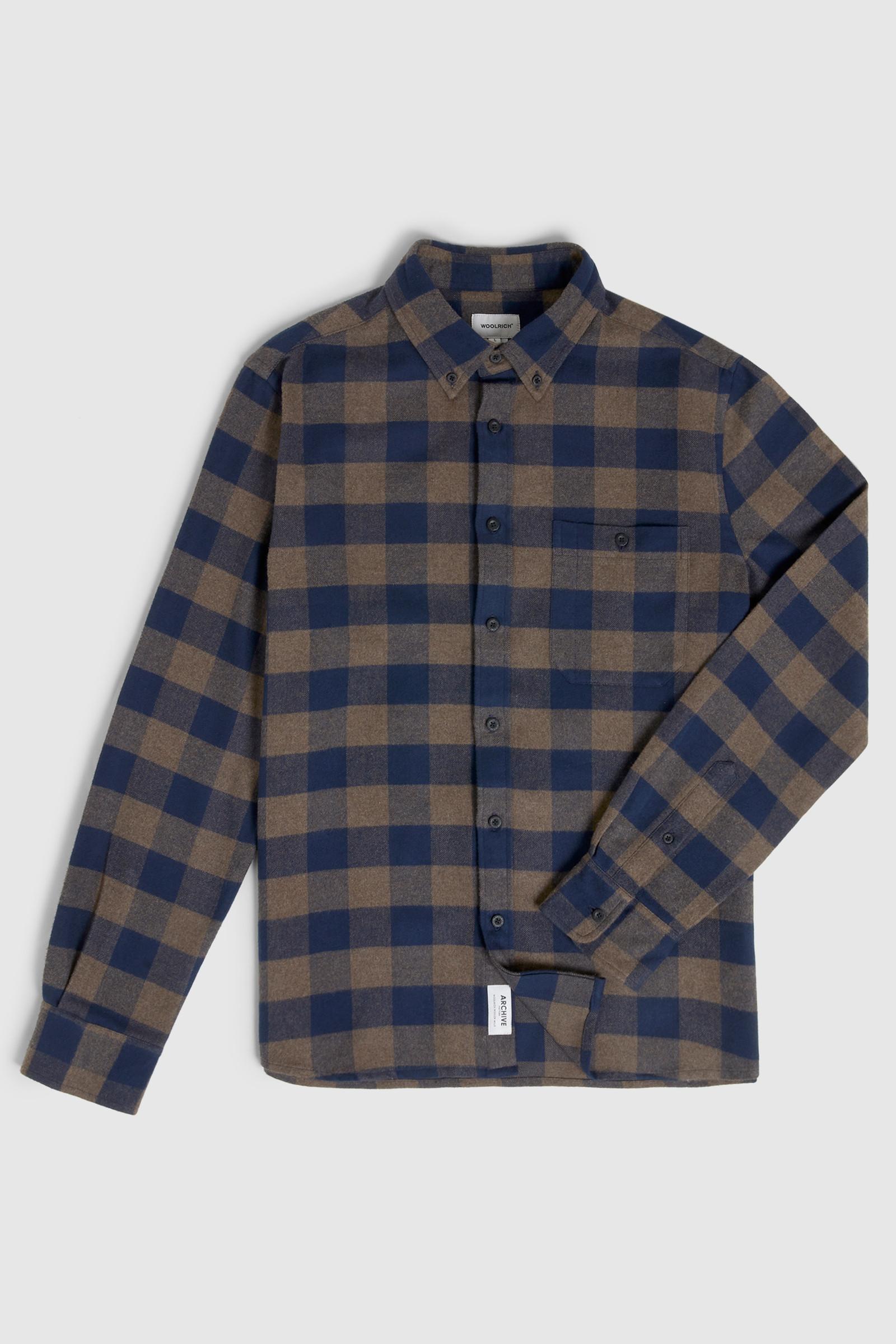 Camicia Trout Run con disegno Buffalo Check