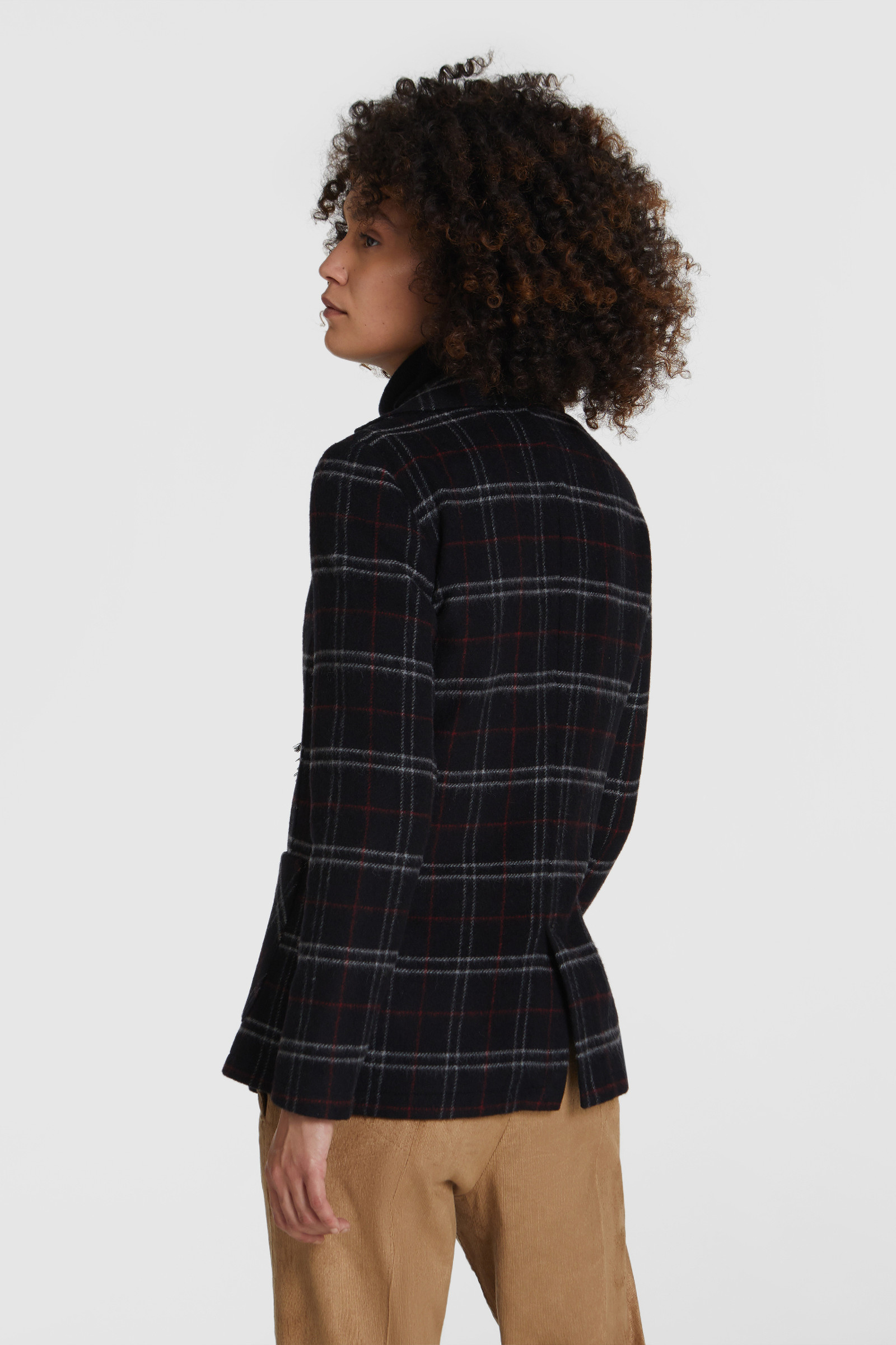 Stretch-Wool Blazer
