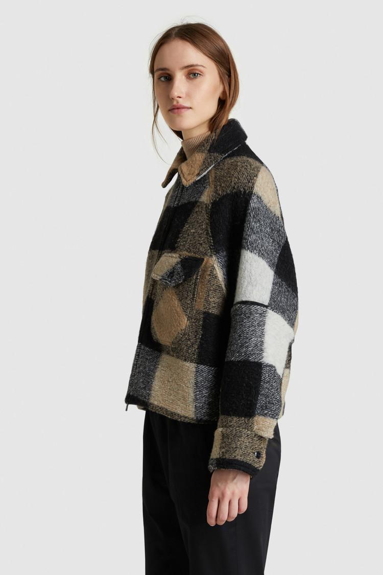 Timber Overshirt aus Wolle
