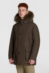 Arctic Parka With Tonal Fur