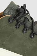 Klassieke nubuck Court sneaker