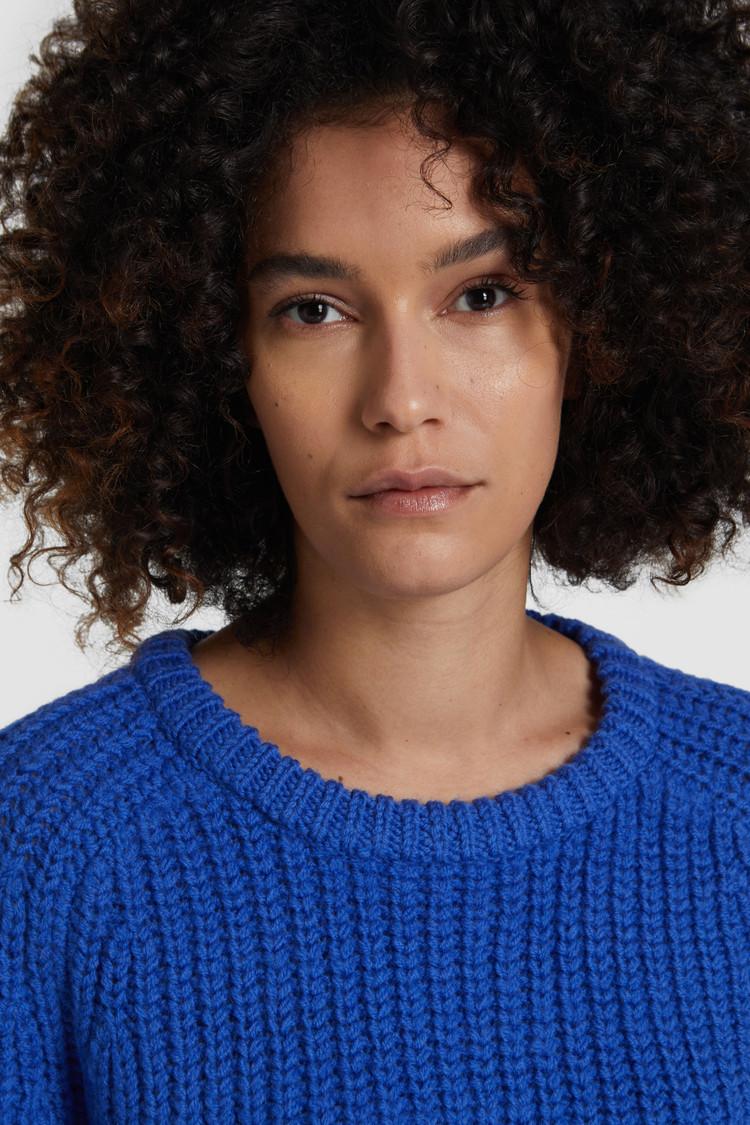 Wool Winter Crewneck Sweater