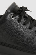 Klassische Sneakers Court aus eingefettetem Wildleder