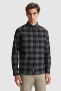 Trout Run Shirt with Buffalo Check archive pattern