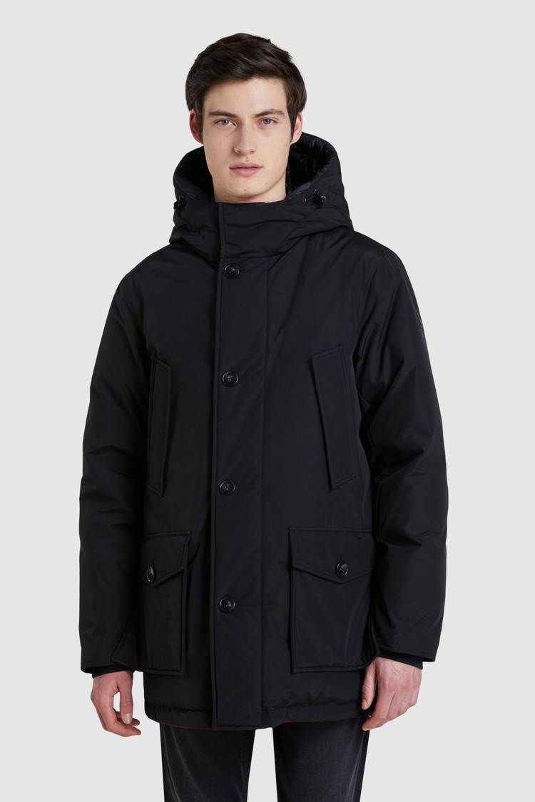Arctic Parka reversibile lana con disegno Buffalo Check