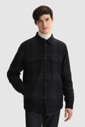 Kariertes Hemd Alaskan aus italienischer Recycling-Wolle