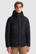 Luxury Jacket in fine Italian wool and silk