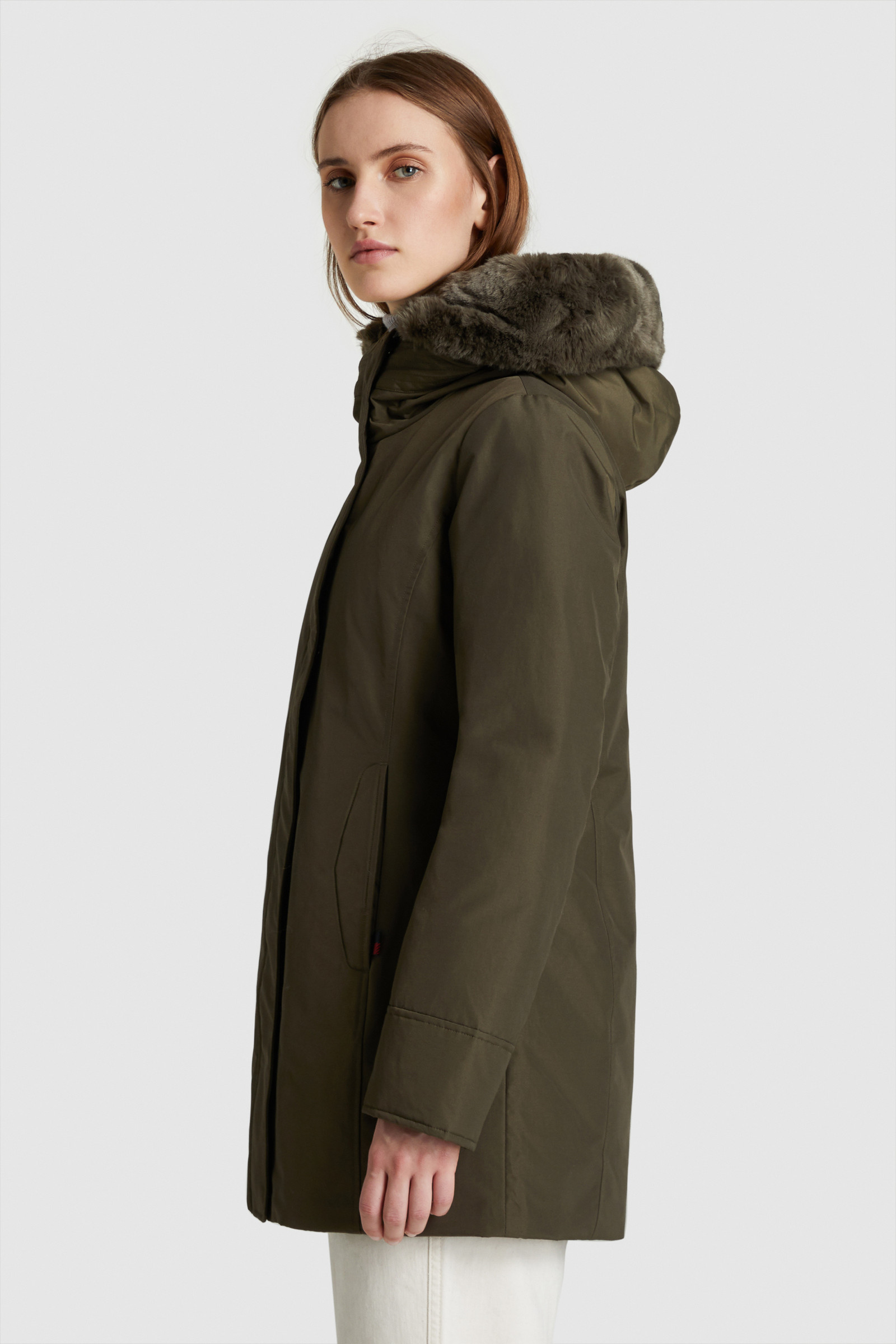 Boulder Parka With Faux Fur