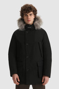 Arctic Parka with dyed fur